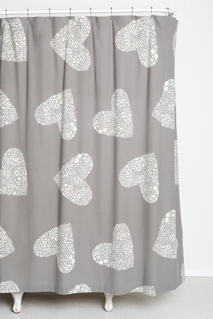 Peva shower curtain nautical design - Plum Bow Sweetheart Shower Curtain Urbanoutfitters
