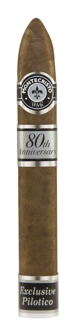 Shop Now Montecristo 80th Anniversary Belicoso #2 Cigars - Humidor Box of 80   Cuenca Cigars  Sales Price:  $1584.95
