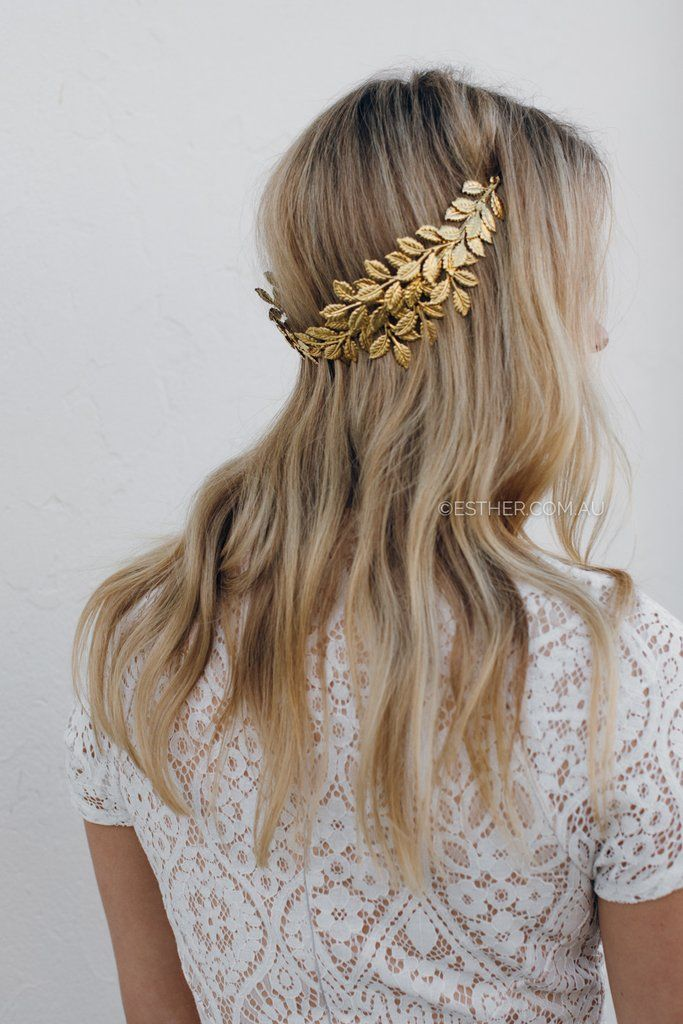 ariel headband - gold
