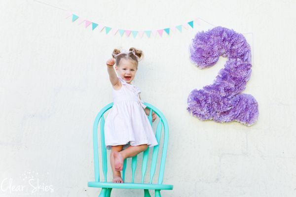Clear Skies Photography two year old birthday session Jacksonville Florida www.clearskiesphoto.com