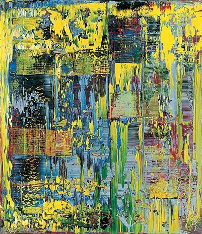 Gerhard Richter abstract art  #art, #design