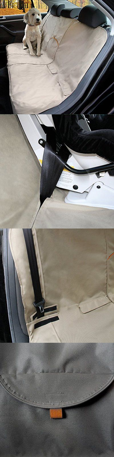 Car Seat Covers 117426: Kurgo Waterproof Car Bench Seat Cover For Dogs, Hampton Sand Khaki New BUY IT NOW ONLY: $45.48