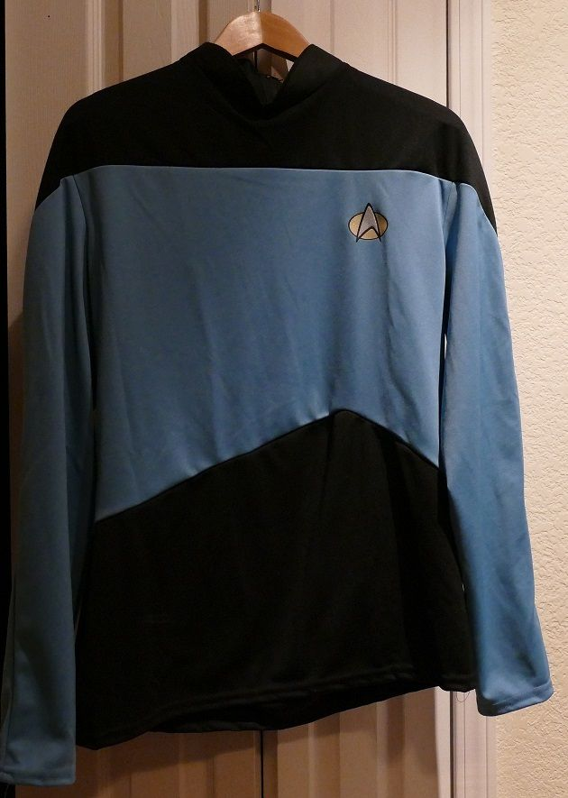 SALE just $25.00  Star Trek The Next Generation TNG Blue Sciences Women's Costume Rubies Large.. #Cosplay