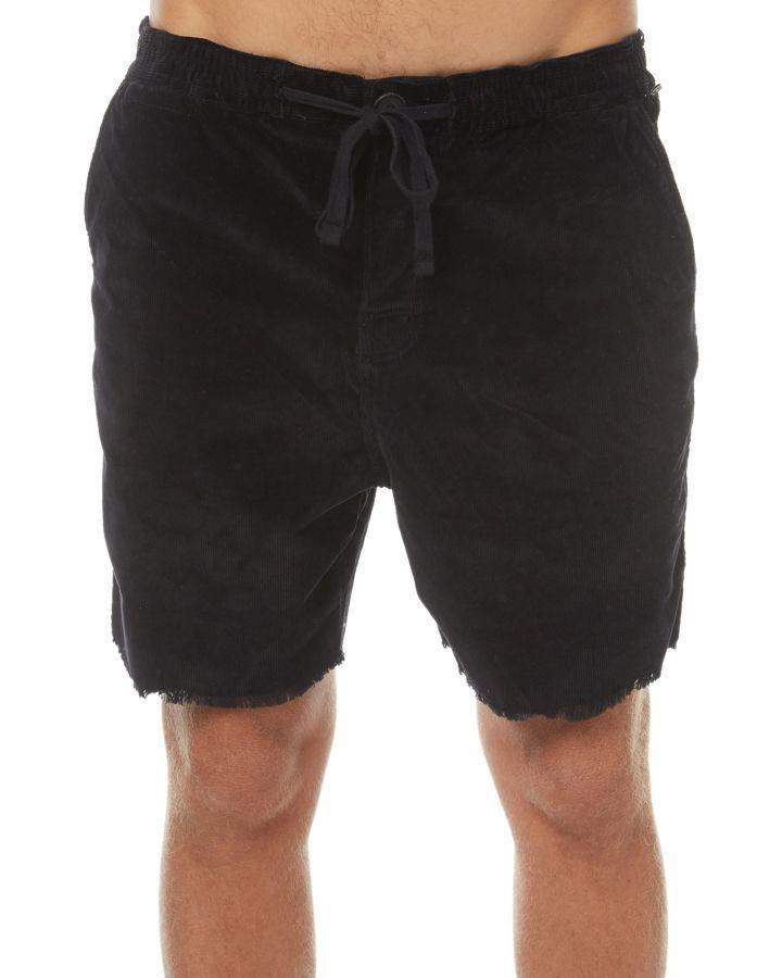 fce9951944 The Critical Slide Society Mr Lazy Mens Cord Short Phantom Phantom Mens  Shorts Size 36