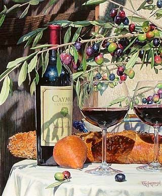 Eric Christensen - Watercolour #wine #SouthAfrica www.winewizard.co.za