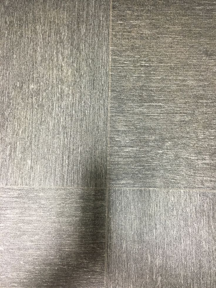 Black/silver large tile vinyl