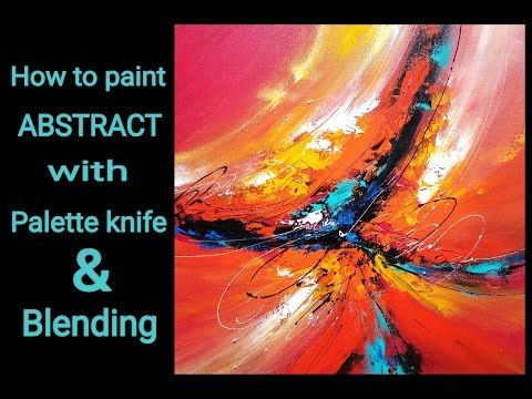 128 best suraj fine arts images on pinterest palette for How to paint with a palette knife with acrylics