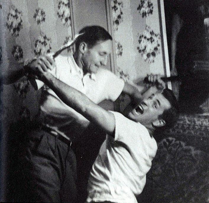 William S. Burroughs and Jack Kerouac, c.1953  [::SemAp::]