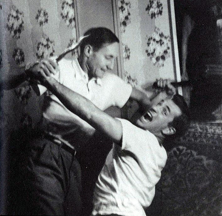 William S. Burroughs and Jack Kerouac, c.1953  [::SemAp::]