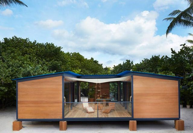 Louis Vuitton realises unbuilt Charlotte Perriand beach house in Miami | Home Design, Garden & Architecture Blog Magazine