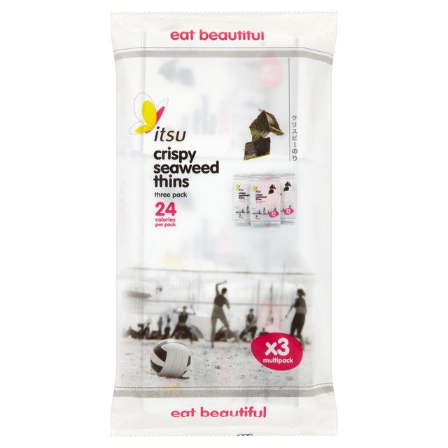 Itsu Seaweed Thins Multipack 5g x 3 per pack from Ocado