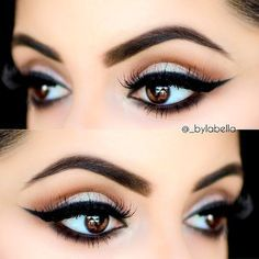 eyeliner styles for big brown eyes - Google Search