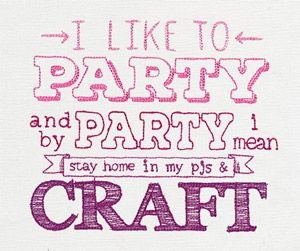 I Like to Party design (UT10116) from UrbanThreads.com