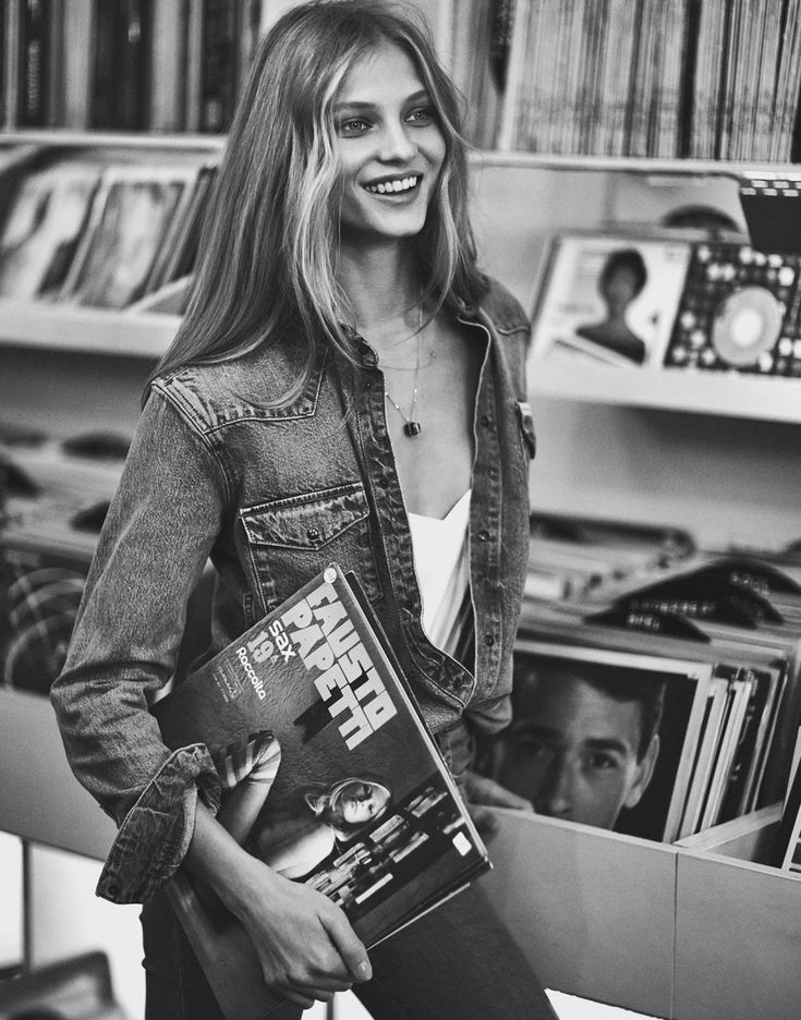Loving the '70s comeback and multiple layers of denim as seen in the editorial for Mixte Magazine S/S 2015. Now to find myself the perfect pair of flares... Photography, Emma Tempest Model, Anna Selezneva