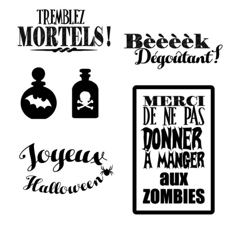 coeur de beurre scrapbooking et fantaisies: Des fichiers gratuits d'Halloween