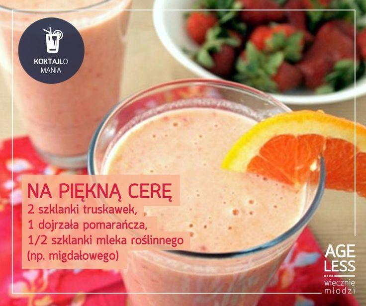 Przedstawiamy Wam smaczny i zarazem zdrowy koktajl, którego regularne spożywanie nie tylko skutecznie orzeźwi Was w gorące dni, ale także zapewni Wam jędrną cerę. Kolejny krok na ścieżce ku #wiecznejmłodości :) #ageless www.ageless.pl #wieczniemlodzi #koktajl #zdrowie