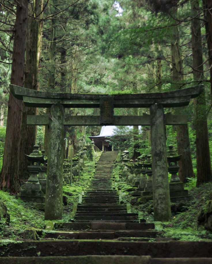 Japanese shrine.  Just inspirational... although if I could pull that off that would be amazing.