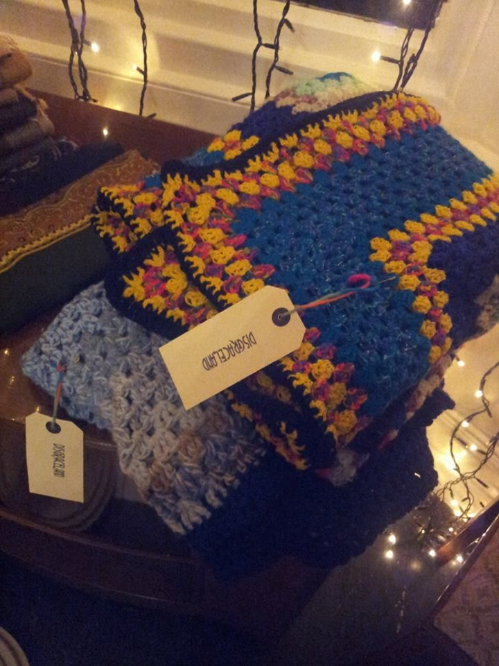 hand-made crochet blankets £25
