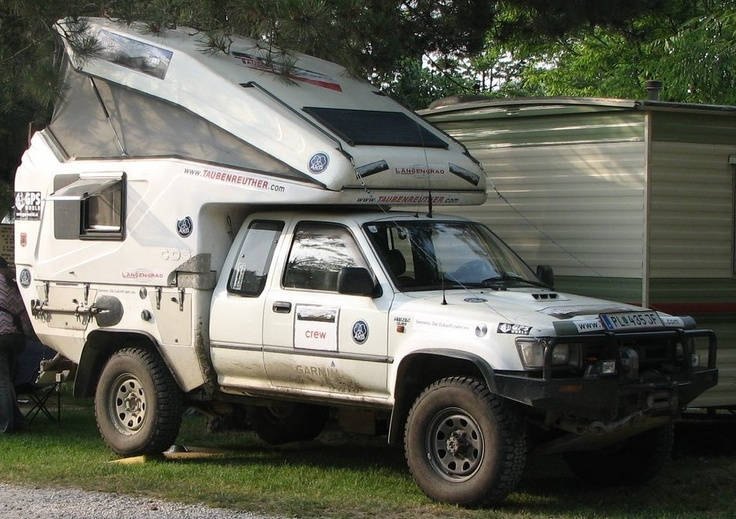 Looks like a very capable rig! Love the King Cab Hilux.