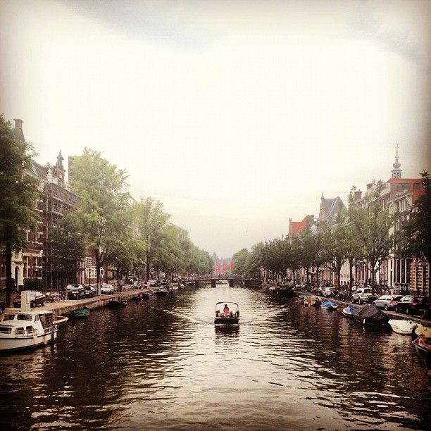 Amsterdam and try space cakes.