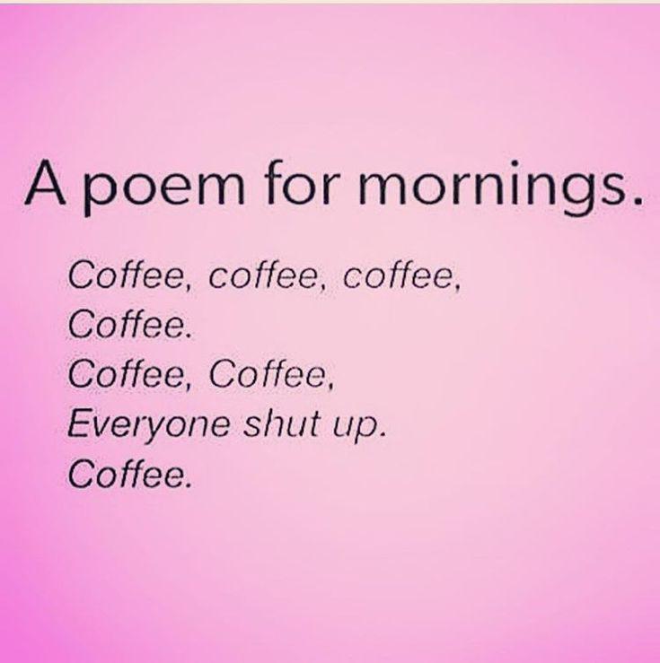 """Good morning! . #funny #coffee #quotes #iwokeuplikethis."""
