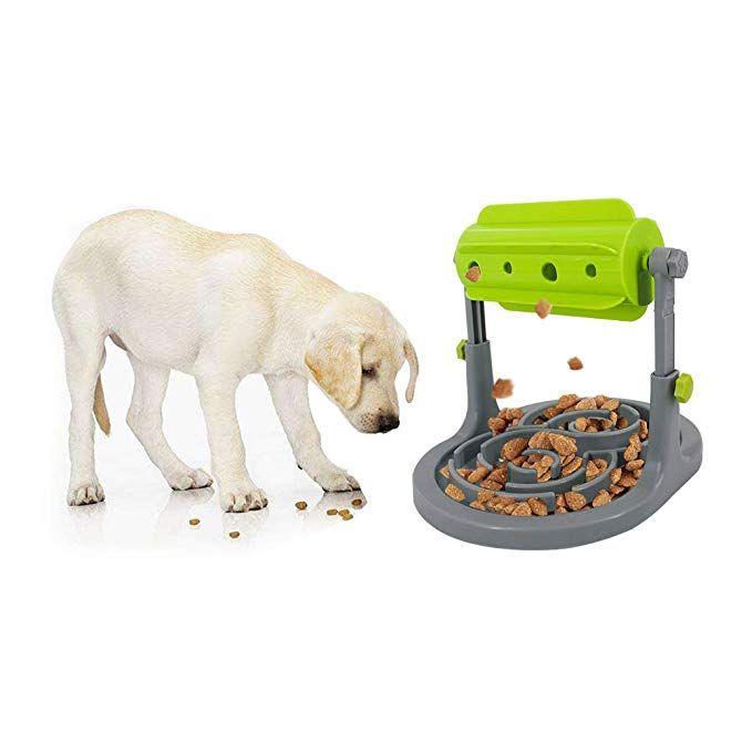 Amazon Com Ospet Interactive Dog Slow Feeder Treat Boredom