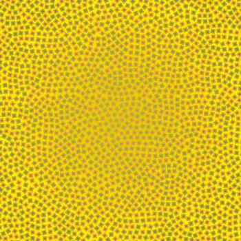 Labirinto, 2015, tecnica mista su tela, cm 130 x 130 Jorrit Tornquist - FerrarinArte - Spazio eventi 2015
