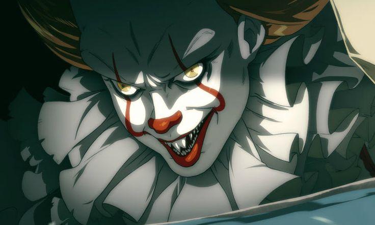 Pennywise In Anime Style : 歴史的大ヒットのホラー映画「It(イット)」が、もしも、アニメ化されたなら…? ! - アニメのキャラになっても、やっぱり不気味なビル・スカルスガルドの恐怖のピエロのペニーワイズです!! | CIA Movie News | Bill Skarsgård, Horror, Photo, Stephen King, Stephen King's It, Otaku, Comic Art, Anime - 映画 エンタメ セレブ & テレビ の 情報 ニュース from CIA Movie News / CIA こちら映画中央情報局です
