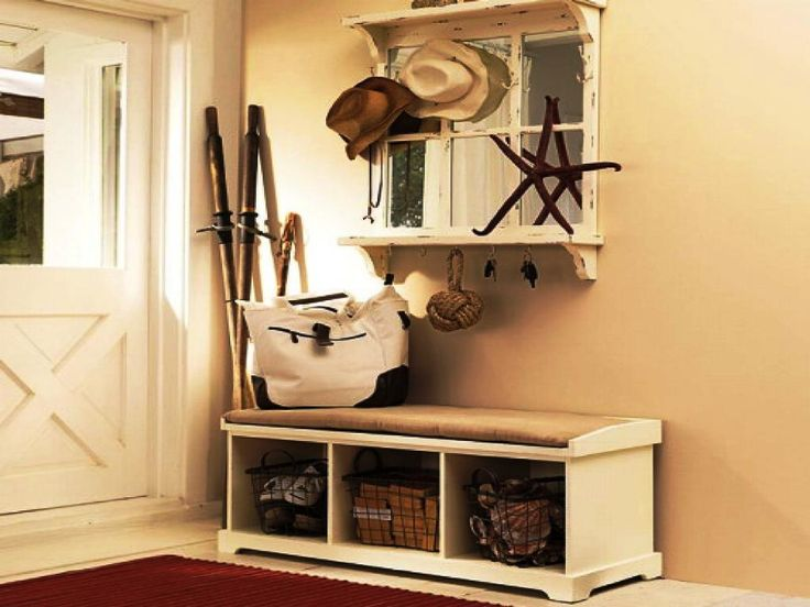 Small Entryway Bench With Storage