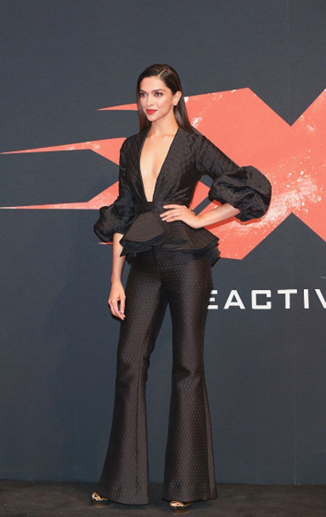 Deepikaat premiere of her hollywood movie XXX The Return of Xander Cage