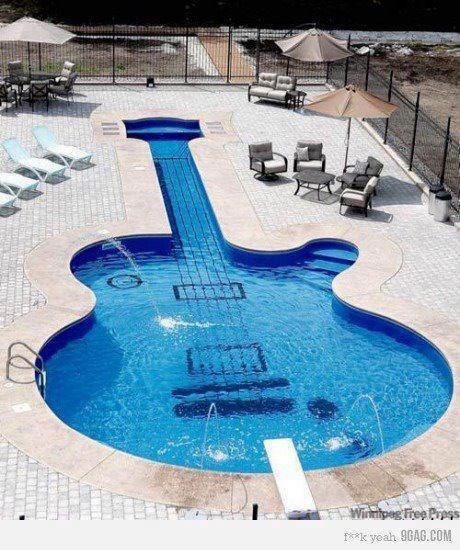 Piscine pour musiciens!