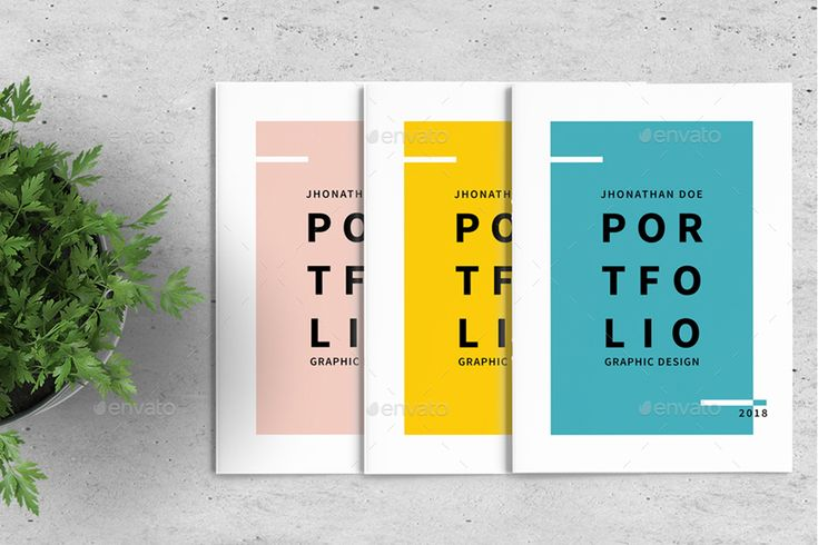 Graphic Design Portfolio Template #Ad #Design, #sp…