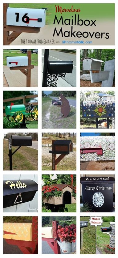 Marvelous Mailbox Makeovers