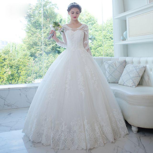 152 besten Aliexpress Wedding Dresses Bilder auf Pinterest ...