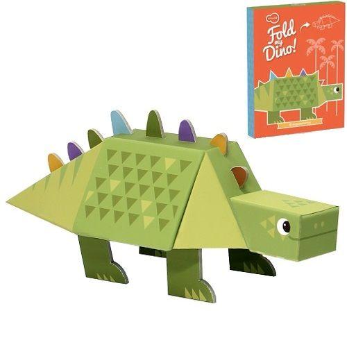 Ο στεγόσαυρος της εταιρείας Kroom μπορεί να χρησιμοποιηθεί ως φιγούρα παιχνιδιού αλλά και σαν διακοσμητικό για το δωμάτιο των παιδιών! Είναι κατασκευασμένος από χοντρό πεπιεσμένο χαρτόνι και περιλαμβάνει εικονογραφημένες οδηγίες για την συναρμολόγηση του. Κατάλληλο από 4 ετών και άνω.   http://mikk.ro/cyU