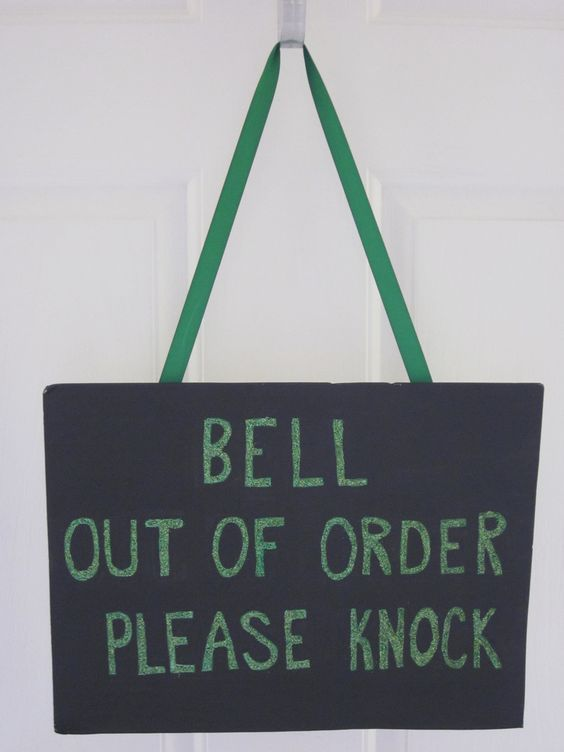 to hang on the door.♥