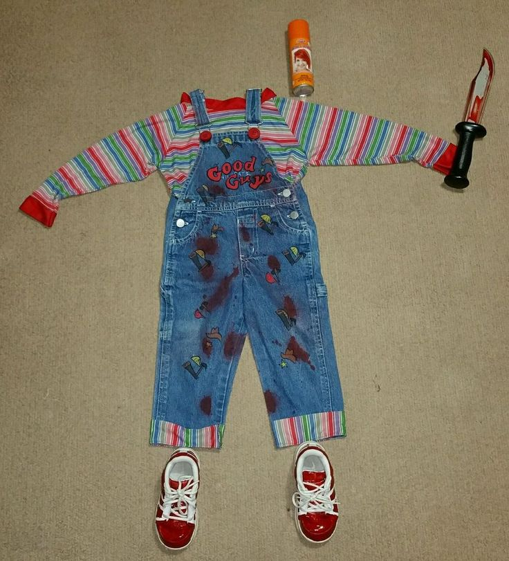 Chucky toddler costume 2T