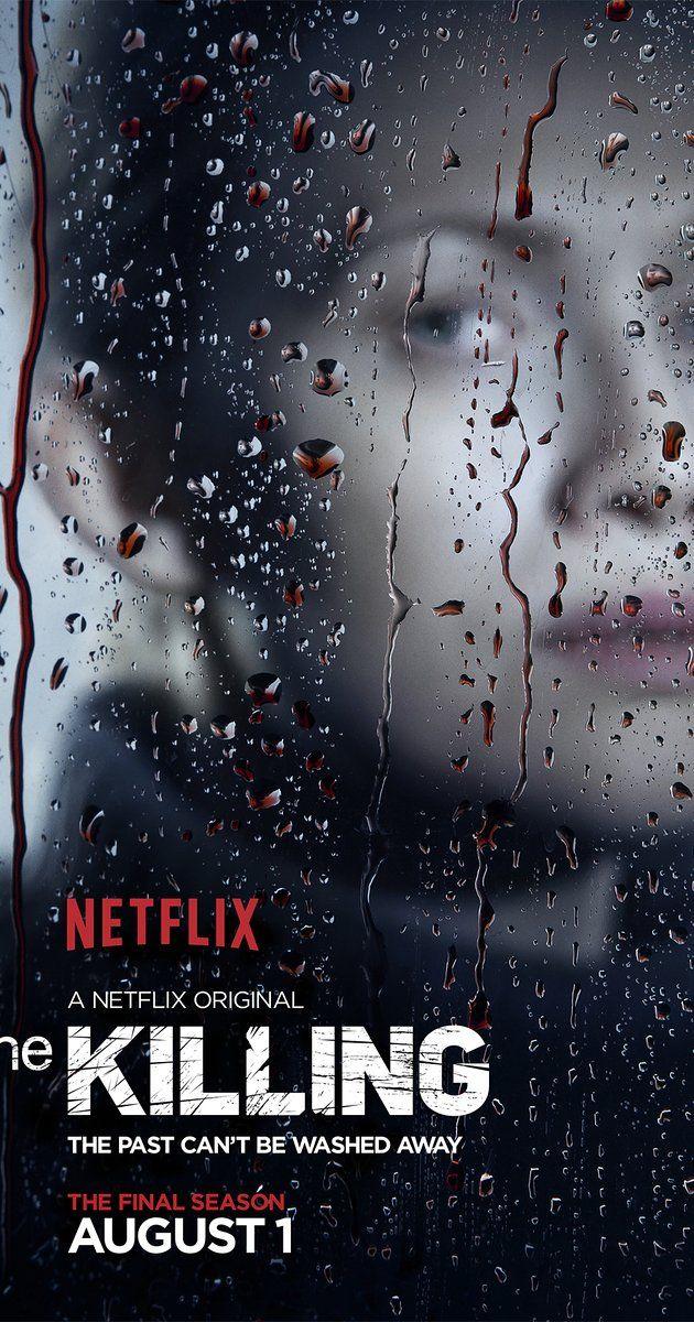 THE KILLING (2011 - 2014) Baseada na série dinamarquesa Forbrydelsen, o drama de The Killing gira em torno do assassinato da adolescente Rosie Larsen e da investigação que se segue, com cada episódio cobrindo aproximadamente 24 horas. Além dos esforços em desvendar o caso da investigadora chefe Sarah Linden (Mireille Enos) e de seu parceiro Stephen Holder (Joel Kinnaman), também acompanhamos o impacto da morte da garota em sua família, na escola onde ela estudava e .