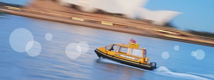 Sydney Cove Water Taxis - great way to get transfers on the harbour