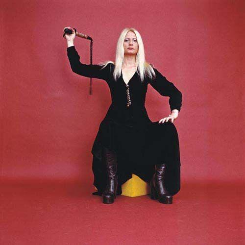Natalia LL AKSAMITNY TERROR 1970 fotografia 100x100cm