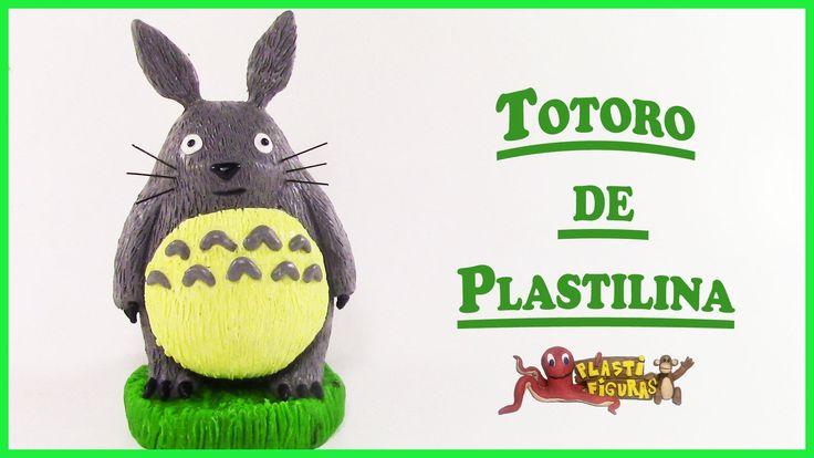 Como Hacer a Totoro de Plastilina/Porcelana Fria/How to Make Totoro with...
