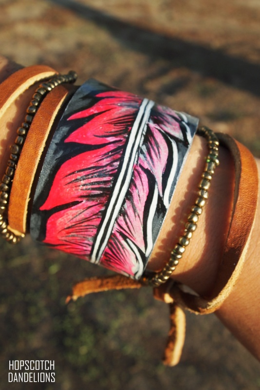 Love this. Love all of her stuff! Cuffs by Hopscotch Dandelions https://www.facebook.com/HopscotchDandelions
