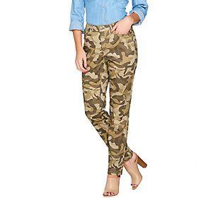 G.I.L.I. Camo Skinny Jeans
