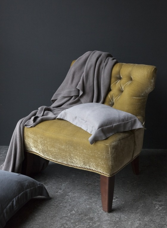 color is comfort. lovin the grey with the mustard.