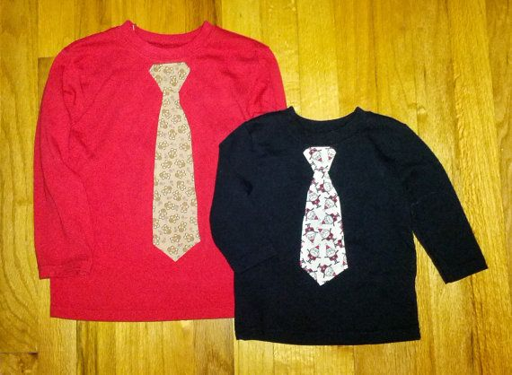 Christmas Holiday Applique Tie Shirt by TreeTownBoutique on Etsy