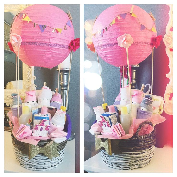 Baby Hot Air Balloon basket