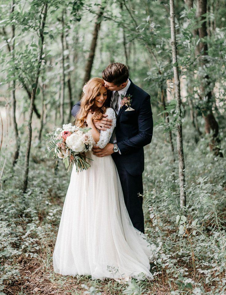 Enchanted Forest Wedding in Oklahoma: Peyton + Colton