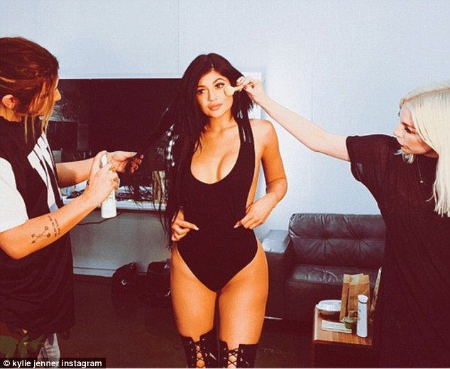 Pushing the limits: On Saturday, Kylie Jenner gave fans a behind-the-scenes look of what a...