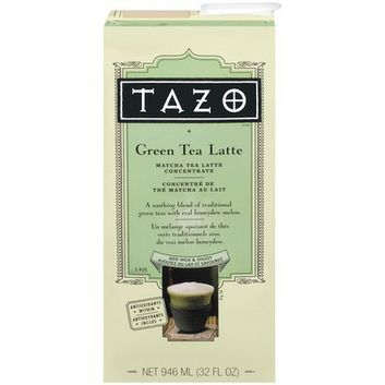 I'm learning all about Tazo Green Tea Latte Matcha Tea Latte Concentrate 32-oz. at @Influenster! @Tazo