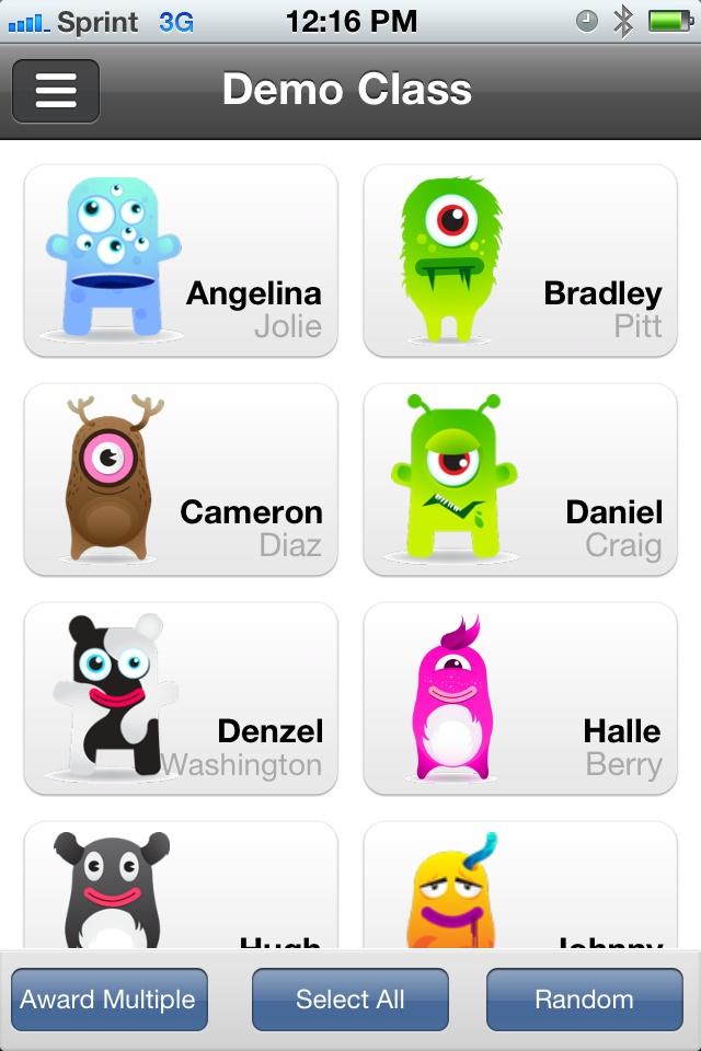 Class dojo online behavior tracker for your class